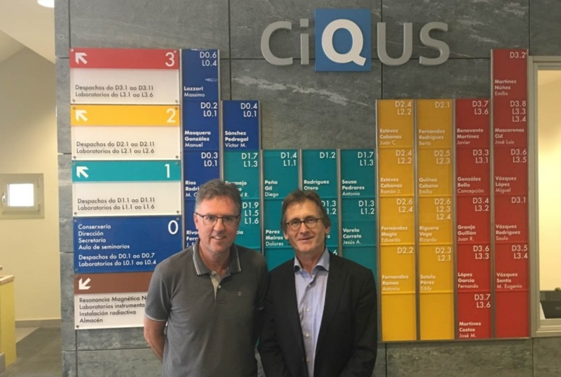 A conexión con Galicia dos novos premios Nobel de Química