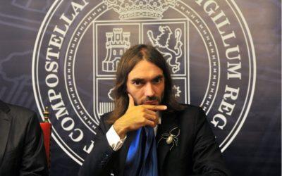 Cédric Villani: o 'dandy' das Matemáticas visitou Compostela