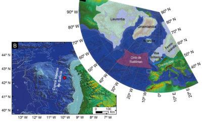 Detectan o rastro da auga dos ríos galegos na última glaciación