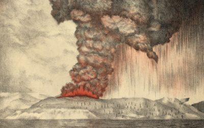 Así chegou a Galicia o tsunami do Krakatoa
