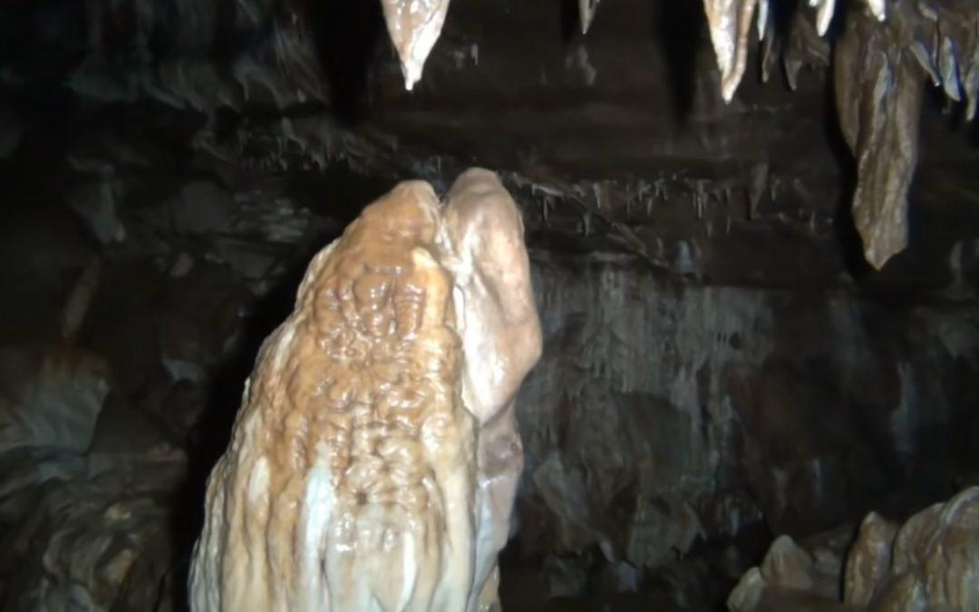Medio millón de anos nunha estalagmita dunha cova do Courel