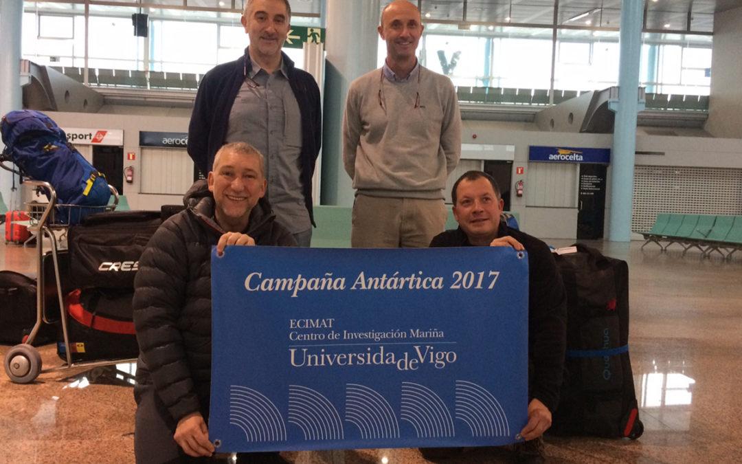 Os galegos da XXX Campaña Antártica