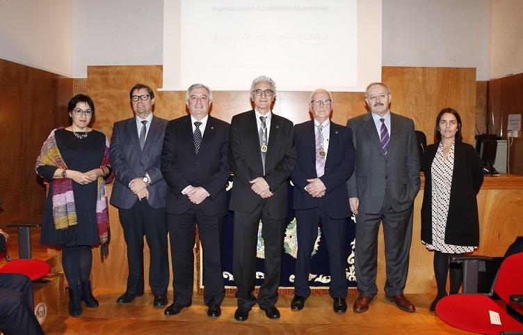 O químico Arturo López-Quintela ingresou na Real Academia de Ciencias
