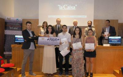 """Claudia Alonso gañou a cuarta edición do premio """"Contar a Ciencia"""""""