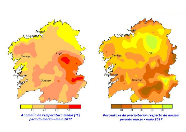Un ano de preocupantes síntomas meteorolóxicos